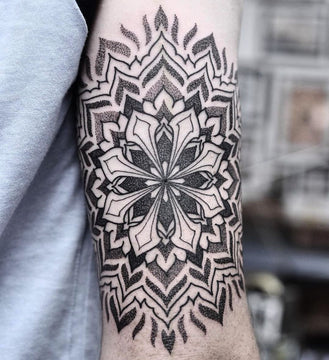 Intricate Mandala Tattoo By Chris Jones