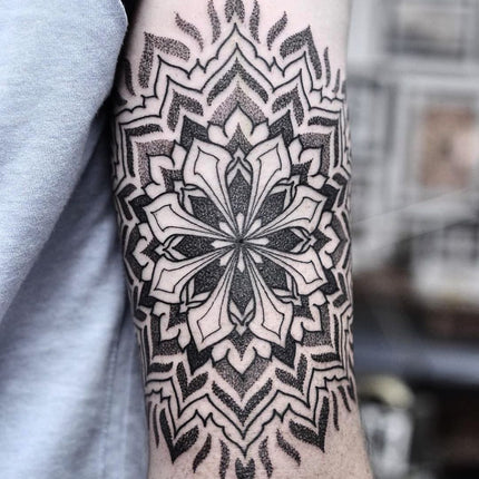 Intricate Mandala Tattoo - Chris Jones