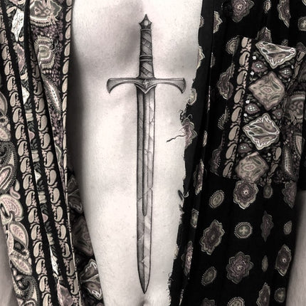 Realistic Sternum Stomach Sword By Alessandro