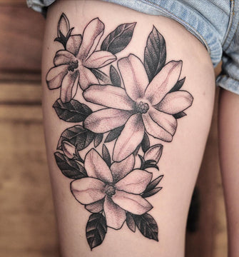 Sampaguita flowers/flower of the Philippines Tattoo - Pablo Morte