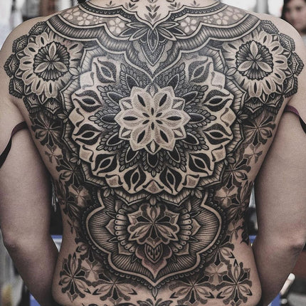 Ornamental Mandala Back Piece Tattoo - Chris Jones