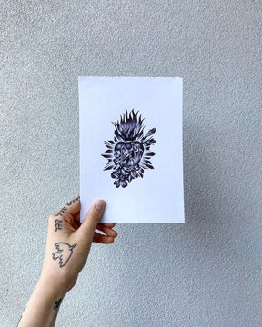 Ballpoint Pen Tattoo Flash - Deanna Lee