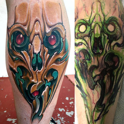 Skull Cover Up - Adrian Dominic