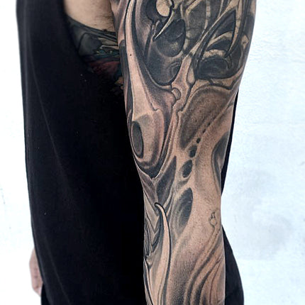Biomech Cover-up Sleeve - Adrian Dominic