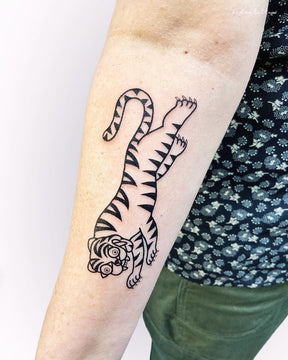 Tiger Flash Tattoo - Deanna Lee