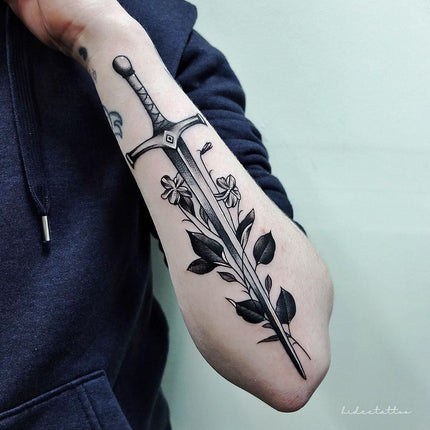 Sword Tattoo - Deanna Lee