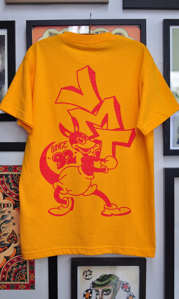 VMT KANGAROO T-SHIRT YELLOW
