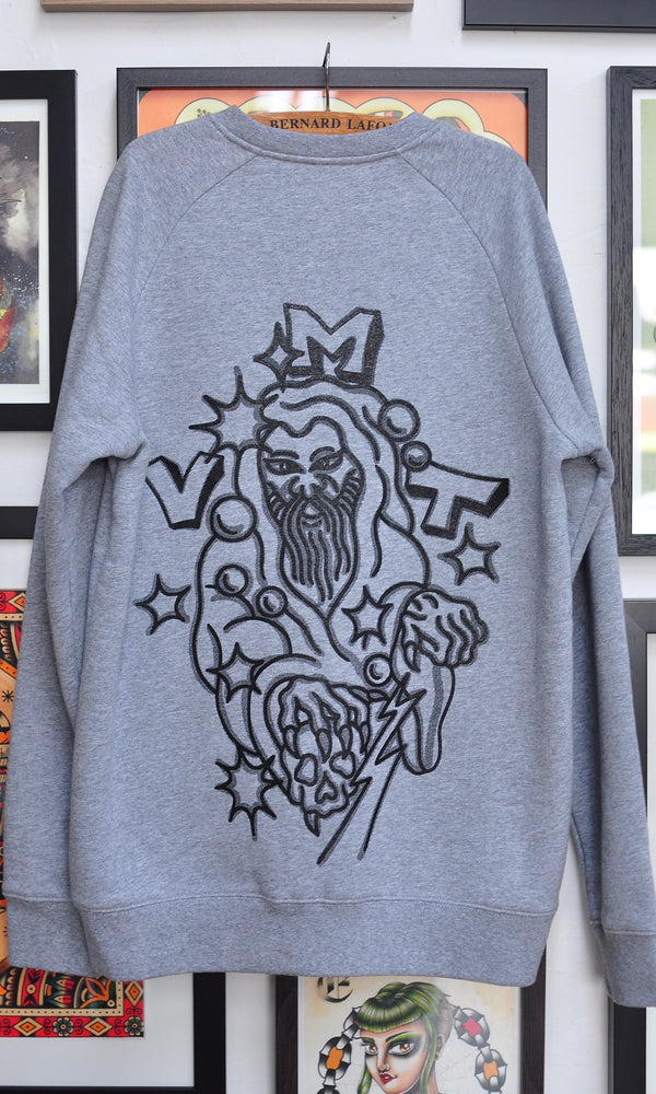 VMT WIZARD CREW GREY