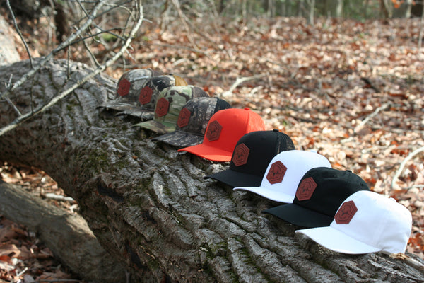 Leather Patch Trucker SnapBack Hats