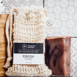 COCOA椰子可可手工皂|COCOA Virgin Coconut Oil Soap & Bag