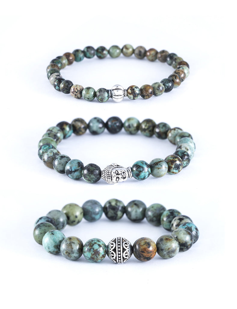 African Turquoise Healing Bracelet