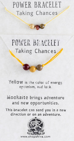 Taking Chances Power Bracelet
