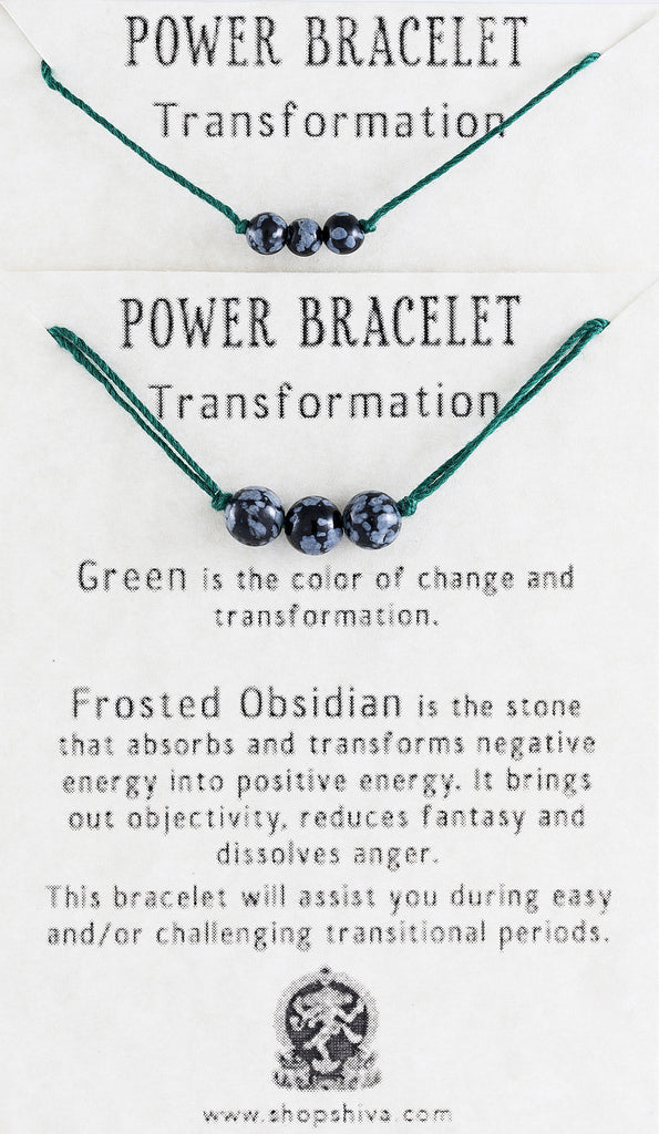 Transformation Power Bracelet