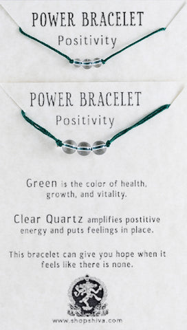Positivity Power Bracelet