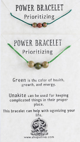 Prioritizing Power Bracelet