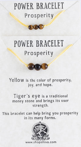 Prosperity Power Bracelet