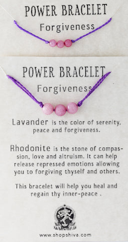 Forgiveness Power Bracelet
