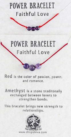 Faithful Love Power Bracelet