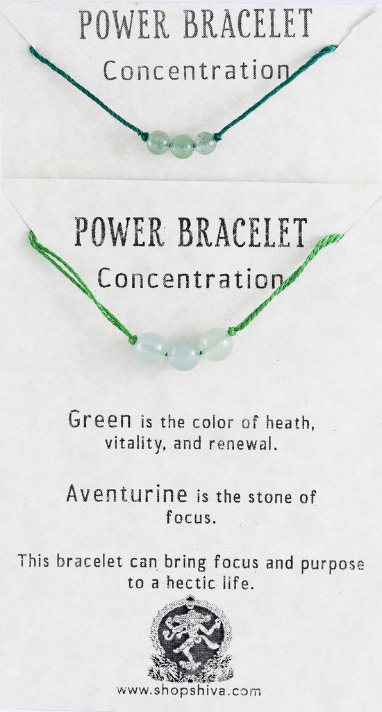 Concentration Power Bracelet