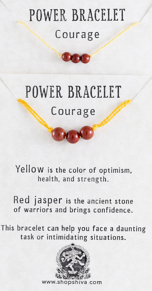 Courage Power Bracelet