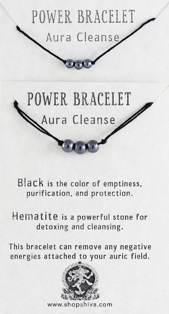 Aura Cleanse Power Bracelet