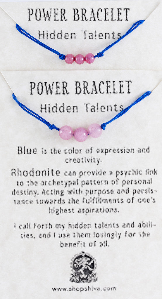 Hidden Talents Power Bracelet
