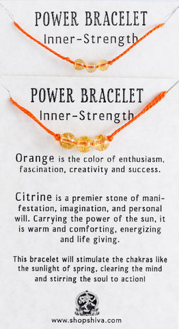 Inner Strength Power Bracelet