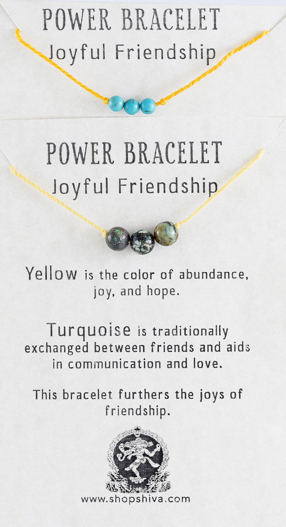 Joyful Friendship Power Bracelet