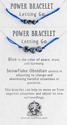 Letting Go Power Bracelet