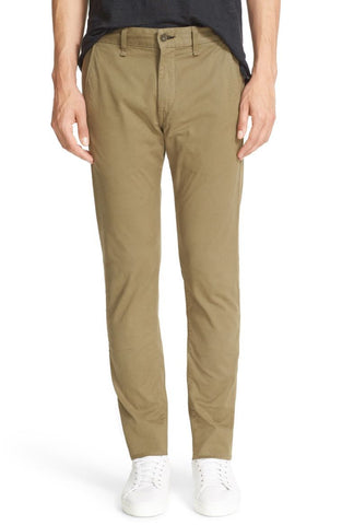 slim fit mens chinos khaki pants made in the usa