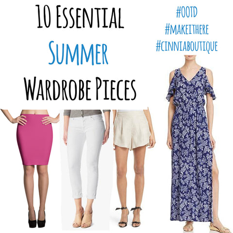 10 must have summer wardrobe pieces made in the usa cinnia boutique