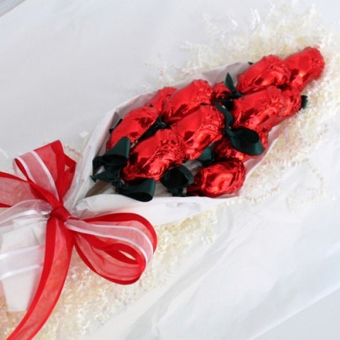 chocolate made in usa roses gift