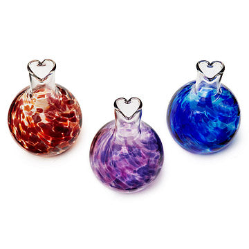heart vases romantic gift made in usa