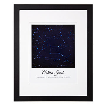 written in the stars personalized gift made in usa