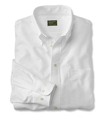 white oxford mens shirt made in the usa