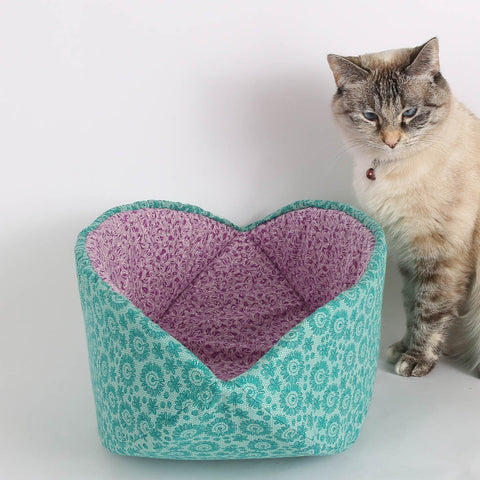 modern cat bed made in usa