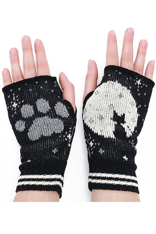 cat in moon handwarmers made in usa