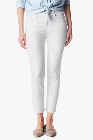 white crop jean made in usa Cinnia Boutique