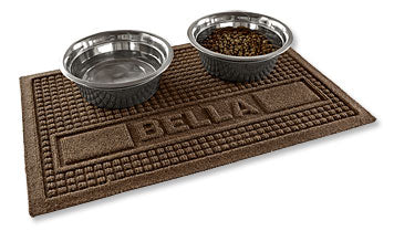 personalized dog food mat made in usa