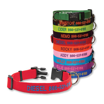 personalized dog collars made in usa