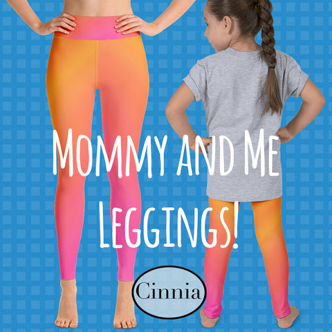 mommy and me leggings made in the usa cinnia boutique