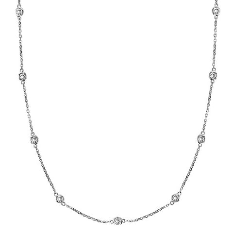 Diamond Necklace Made in USA