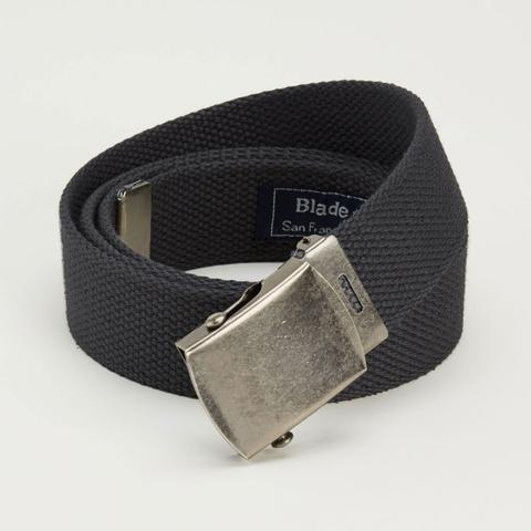 black web military belt made in usa