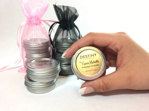 candle massage gift set made in usa