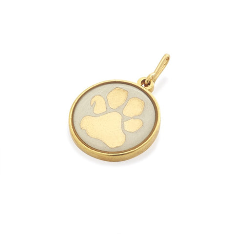 paw print charm alex and ani made in usa