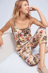 floral jumpsuit made in usa