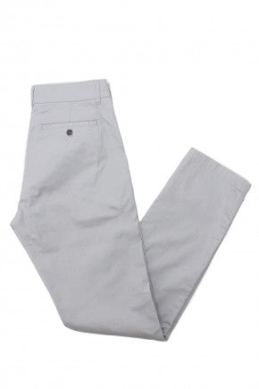 Fine Twill Chinos - Ash Gray