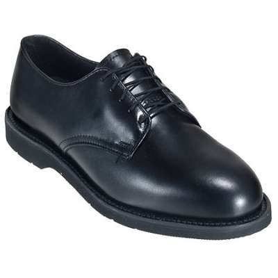 Thorogood black classic oxford work shoes vibram soles made in usa