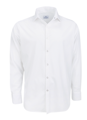 dress white shirt stretch made in usa