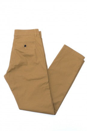 Fine Twill Chinos - Field Khaki